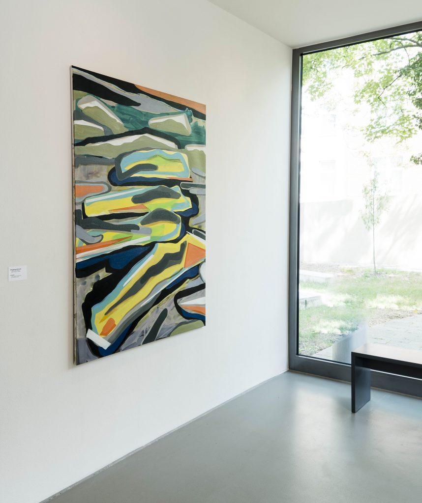 daliegen - Ausstellungsansicht